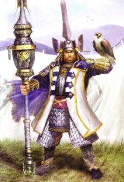 Tokugawa Ieyasu, looking stoic and dependable.